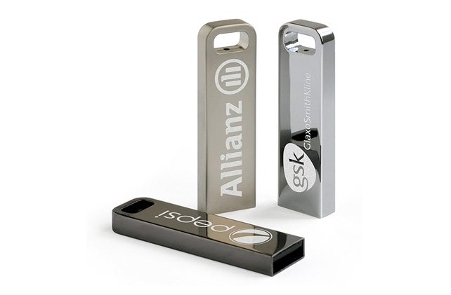 Aero Iron Promotional USB Flash Drives