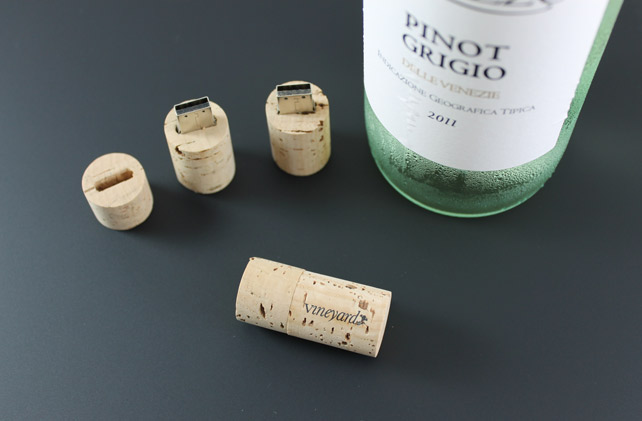 Branded Cork USB Flash Drive
