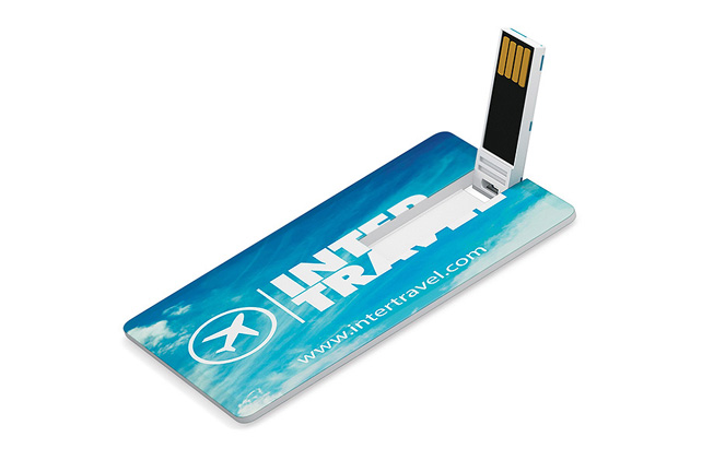 Printed Ultra Slim Card USB Drive