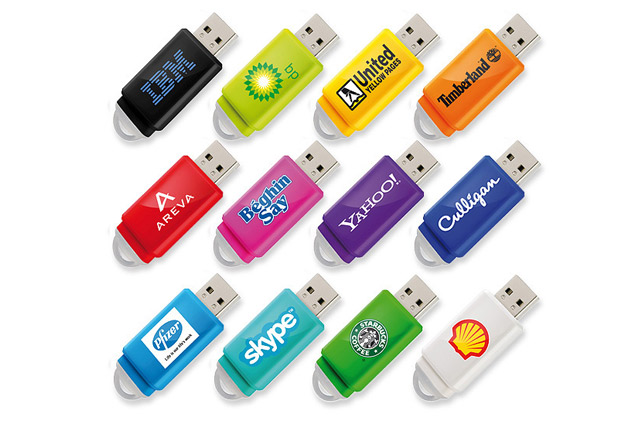 Slide Capless USB Memory Stick