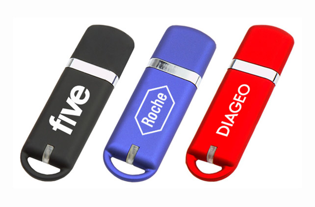 Capsule Printed USB Sticks in a Range of Body Colours